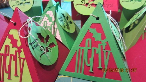 Christmas Cricut Boxes