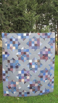 Old Blues Re-Quilt